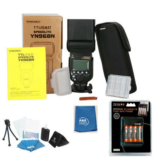 YONGNUO YN968N Wireless Camera Flash Speedlite Master HSS TTL For Nikon YN968 +