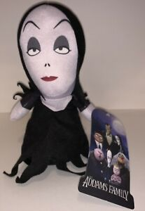 Addams-Family-Morticia-Addams-Plush-Toy-New-With-Tag