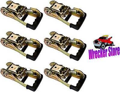 6 Gradual Release Ratchet W/ Snap Hook, Dynamic, Rollback, Wrecker, Wheel Lift