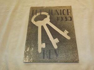 VINTAGE-SCOTIA-1939-YEARBOOK-THE-JUNIOR-KEY