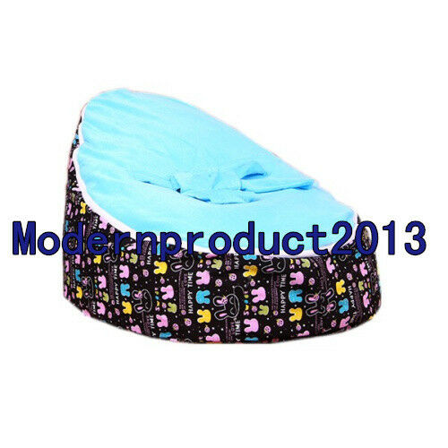 Freeship Baby infant  Bean Bag Snuggle Bed seat 2 upper layers Without Filling