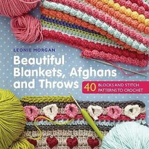 Beautiful-Blankets-Afghans-and-Throws-by-Leonie-Morgan-NEW-Book-Paperback-F