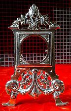 c1880 Antique Victorian Gothic Brass Pocket Watch Stand Holder   Rd 183660