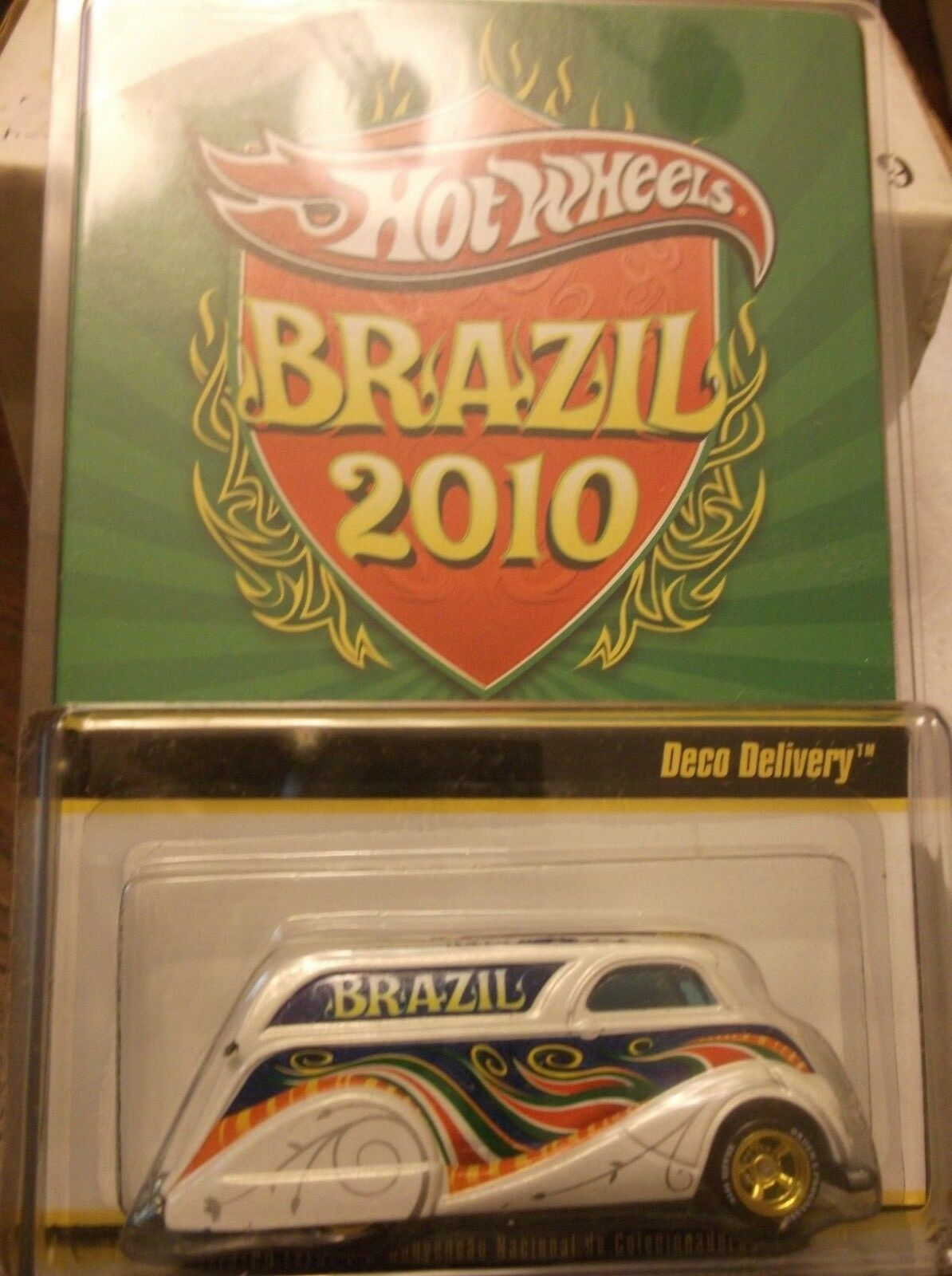 HOT WHEELS BRAZIL 2010 DECO DELIVERY