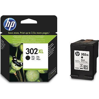 New Genuine HP 302XL Black Ink Cartridge for Deskjet 1110 2130 3630 F6U68AE