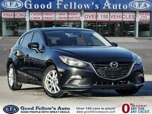 2014 Mazda 3 Sport GS SKYACTIV, BACKUP CAMERA, HEATED SEATS, BLUETOTH