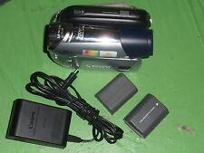Canon ZR900 ZR900A Digital Mini DV Camcorder - Record Plays Transfer Tape MiniDV
