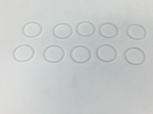 """10 PACK HOLLEY CARBURETOR FUEL INLET FITTING NYLON WASHERS 7//8/""""-20 108-8"""
