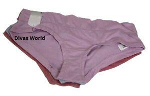 Secret Possessions 3 Pack Cheeky Knickers Women/'s Ladies Brief Panties Primark