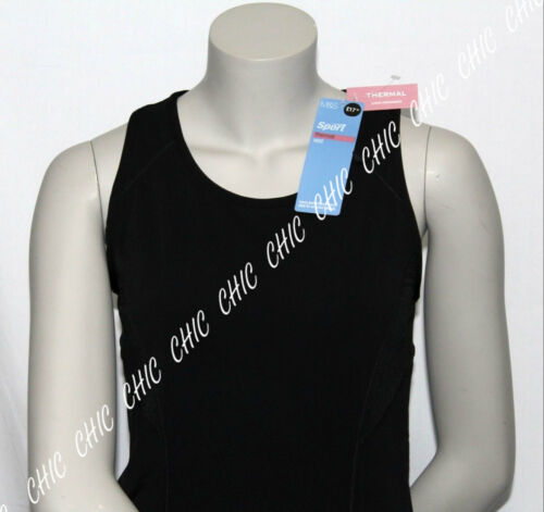 Marks /& Spencer Womens Sports Thermal Vest M/&S Top Luxury Sleeveless Fitness Gym