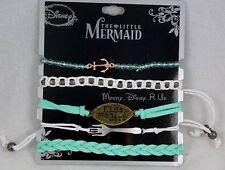 Disney Ariel The Little Mermaid Kiss the Girl Bracelet 5 Pack Charms Beads Set
