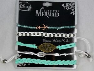 Disney Ariel The Little Mermaid Kiss the Girl Bracelet 5 ...