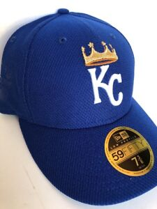KANSAS CITY ROYALS 59FIFTY MLB New Era Cap Low Profile Men s Fitted ... 5792cee4332