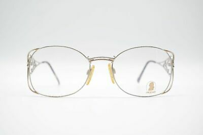 Clever Vintage Neostyle Mozart 1 996 52[]16 135 Silber Gold Oval Brille Nos