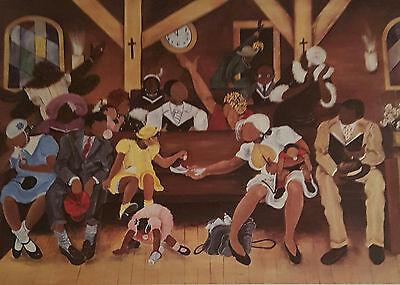 Annie Lee Print GIMME DAT GUM/ ReligiousAfrican American Art Liquidation SALE!!