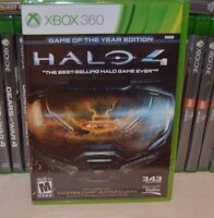 Xbox 360 Halo 4 Game Of The Year Edition Goy Sealed Region Free Usa