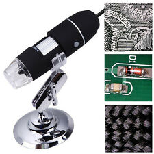 2MP1000X USB Digital Microscope 8LED Endoscope Electronic Magnifier Video Camera