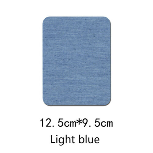 Sleeve Against Jeans Patch Iron On Clothes Patches Repair Elbow 2PCS//Lot Knee