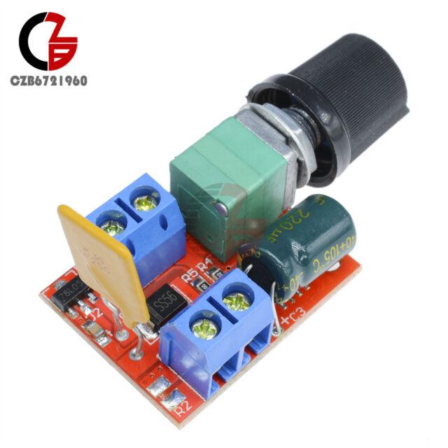 Mini DC 3V-35V 3-35V 5A Motor PWM Speed Control Switch Controller  LED Dimmer