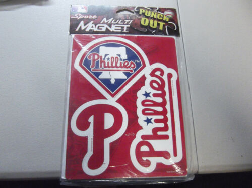 PHILADELPHIA PHILLIES MULTI MAGNET DIFFERENT SEALED FOREVER COLLECTIBLES 3