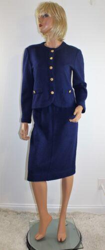 navy Santana in vintage anni con gonna taglia blu Gonna Petite 6  70 maglia  qzBwdxwE1 c0759e5572b