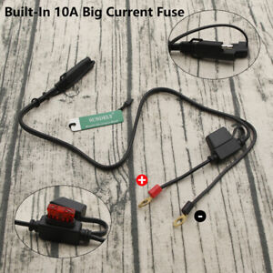 12V-Terminal-To-SAE-Quick-Disconnect-Cable-Motorcycle-Battery-Output-Connector