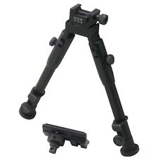 CCOP USA 9-Inch Tactical Hunting Rifle Picatinny Swivel Stud Mount Bipod BP-59S