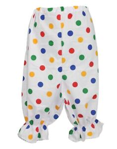 Kids-Size-Children-in-Need-Polka-Dot-Panto-Dame-Bloomers-Childs-Age-8-12-CIN