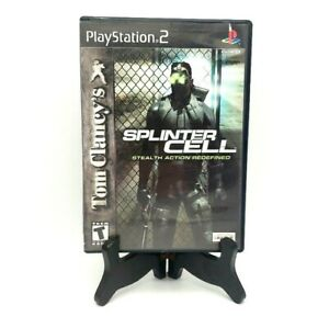 Tom-Clancy-039-s-Splinter-Cell-Sony-PlayStation-2-PS2-Complete-Game-Case-Manual