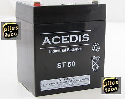 Batterie Alarme 6V 13Ah 151 x 51 x 95mm  plomb etache Neuve
