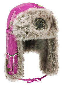 a43e4c3c45a7b Image is loading Pinewood-Ladies-Murmansk-Realtree-Pink-Camo-Hat-Shooting-