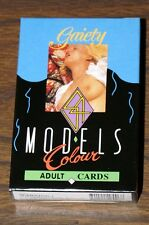 NUDE FEMALE PLAYING CARDS 54 BEAUTIFUL MODELS IN ALL - FREE SHIPPING