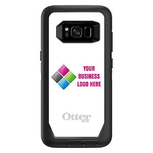 competitive price 76577 f6c4e Details about CUSTOM OtterBox Defender for Galaxy S6 S7 S8 S9 S10 PLUS Your  Business Name Logo