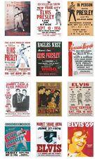 Elvis Presley Concert Posters Trading Card Set Vol 1