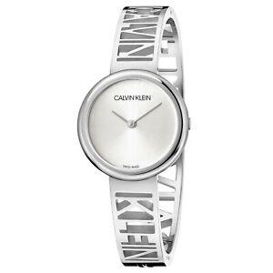 Calvin Klein Mania Quartz Silver Dial Steel Bracelet Ladies Watch KBK2S116