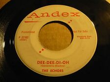 "ECHOES dee dee di oh / time - 7"" / 45 ( r&b ) - PROMO -"