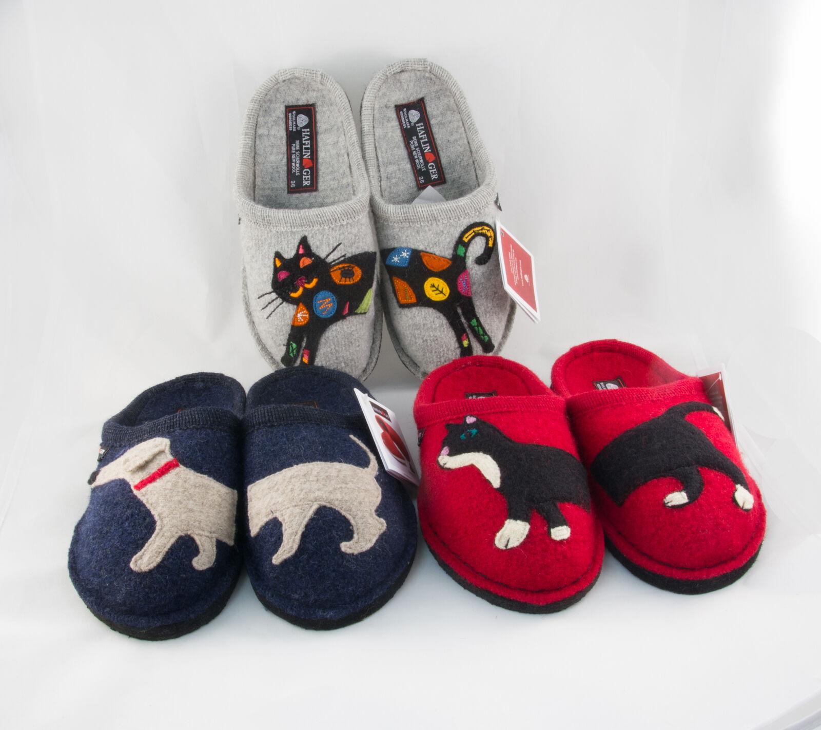 Haflinger Flair ciabatte sabot lana calde pantofole babbuccie