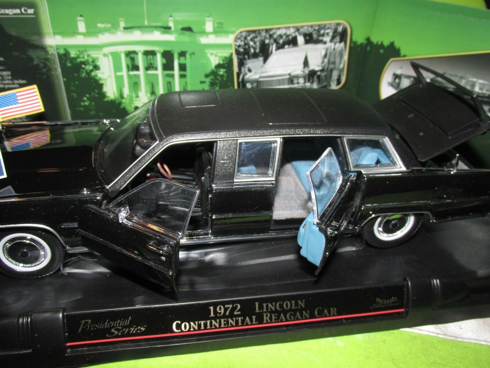 11972 Lincoln Continental Continental Continental Reagan 72 Limousine 1 24 Route Signature 5d4422