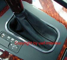(Dn) Chrom Schaltrahmen dezent Aluminium BMW E38 E39 5er 7er Automatik