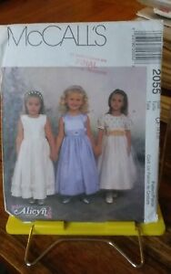 Oop-Mccalls-Alicyn-2055-girls-party-confirmation-flowergirl-dress-sz-4-6-NEW