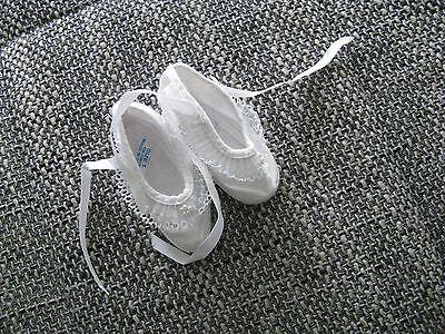 *** Süße Baby Schuhe Gr.1 weiß Sehr Gut