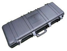 SRC Airsoft Rifle Case Safe & Secure Hunting Carrying Case (105CM) In Black