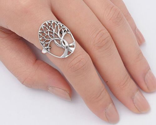 USA Seller Tree of Life Ring Sterling Silver 925 Best Price Jewelry Selectable