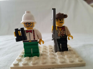 LEGO Minifigure Johnny Thunder Desert Adventurers 5986 5987 5958 minifig