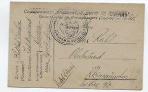 1919-WWI-Italian-POW-card-to-Austria-y5357