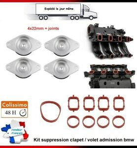 KIT-SUPPRESSION-CLAPET-VOLET-BOUCHON-D-039-ADMISSION-4X-22MM-BMW-E90-E91-320d