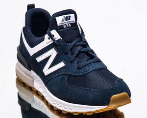574 Balance Indigo White Casual Lifestyle Sport New Men Sneakers QCedWorxBE