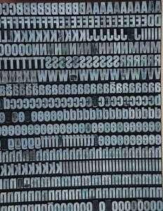 HELVETICA-10-5mm-Bleischrift-Bleisatz-Buchdruck-Handsatz-Bleiletter-Steckschrift