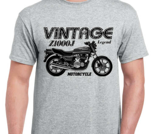 KAWASAKI Z1000J 81 inspired vintage motorcycle classic bike shirt tshirt