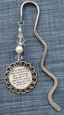 Bookmark Handmade Outlander Series Wedding Vow Quote Wedding Vow Jamie and Clair